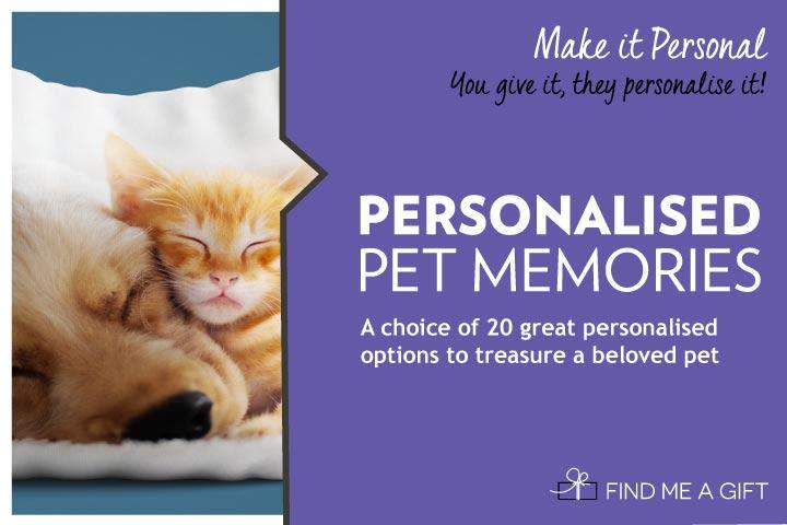 Personalised Pet Memories