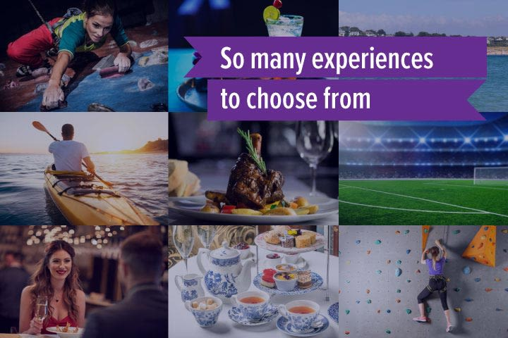 Mega Choice for Valentine's Day - Experience Day Voucher