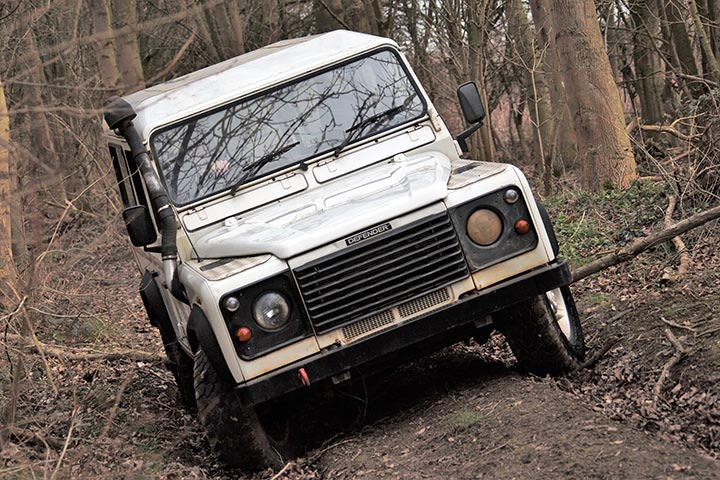Ultimate Off Road Family Experience for Four at Prestwold