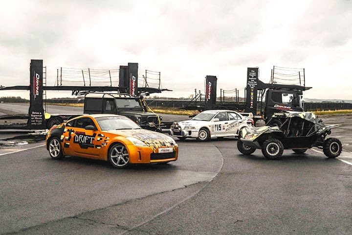 Ultimate Family Driving Experience for Four at Prestwold