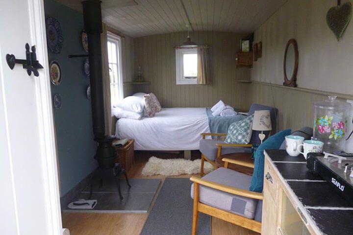 One Night Shepherds Hut Getaway for Two