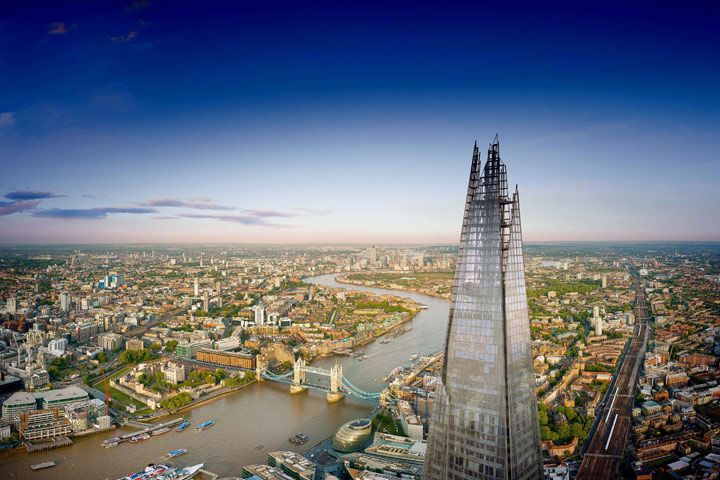 The View from the Shard with Cocktail & Guidebook for Two