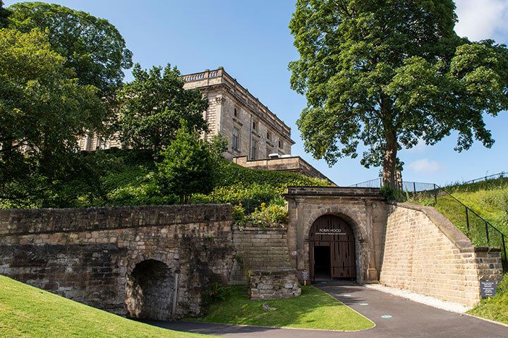 Family Entrance to Nottingham Castle