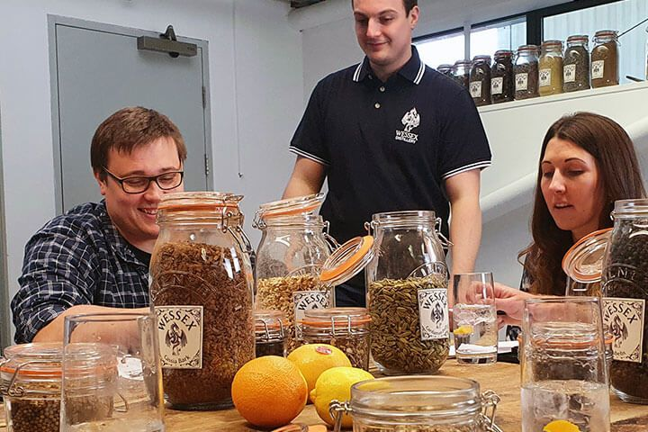 Gin Making Experience & Tour for Two at Wessex Distillery