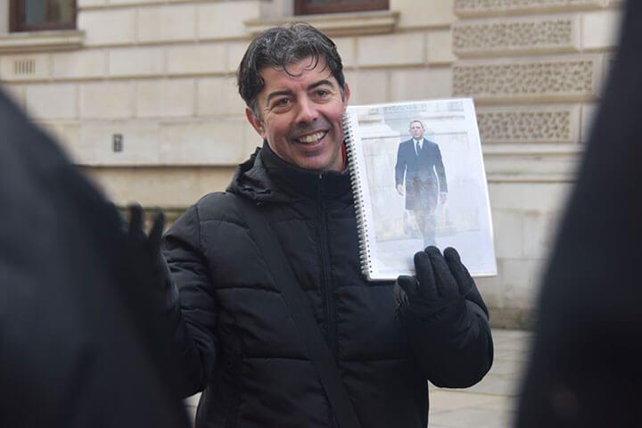 James Bond Walking Tour of London for Four