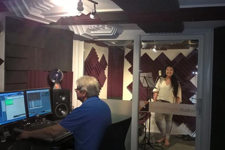 Platinum Recording Studio Experience