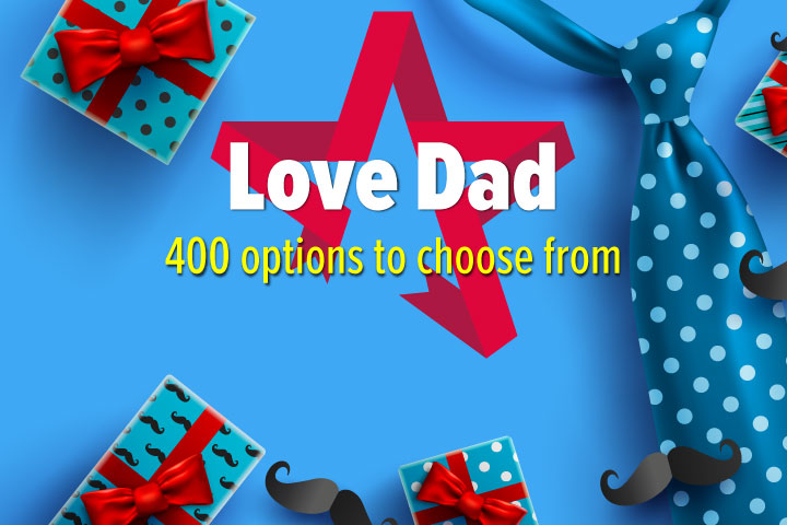 Love Dad - Gift Experience Voucher