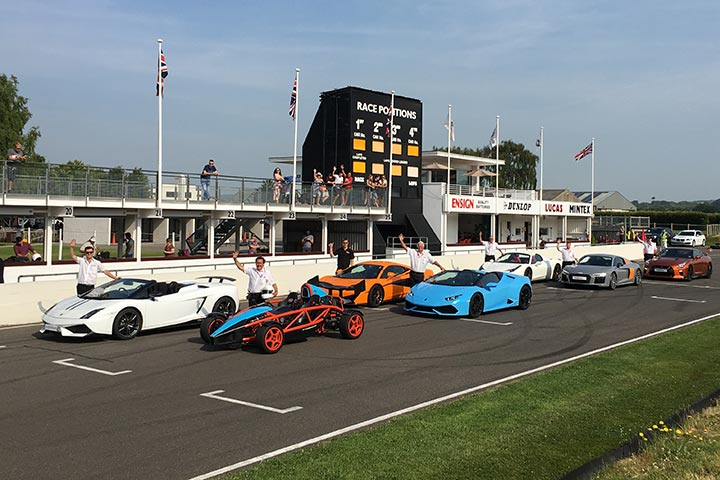 Supercar Driving Experience at Goodwood Motor Circuit, Chichester, Sussex