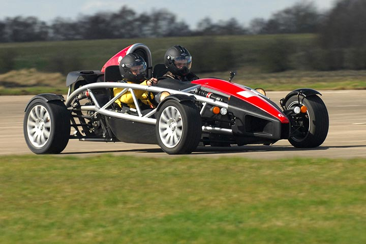 Ariel Atom Driving Experience at Yorkshire Air Museum, North Yorkshire