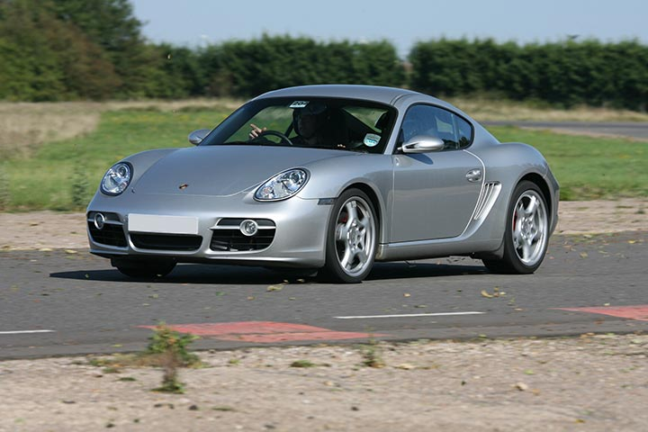 Porsche Driving Experience at Prestwold Driving Centre, Leicestershire