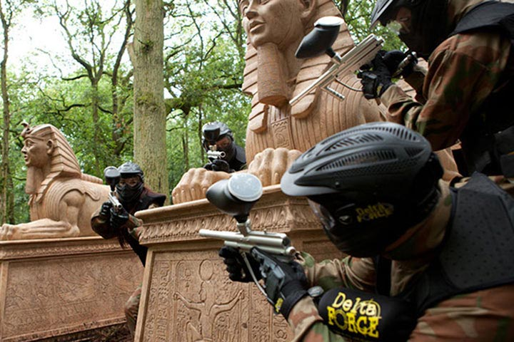 Paintballing for Four - Half Price Special Offer