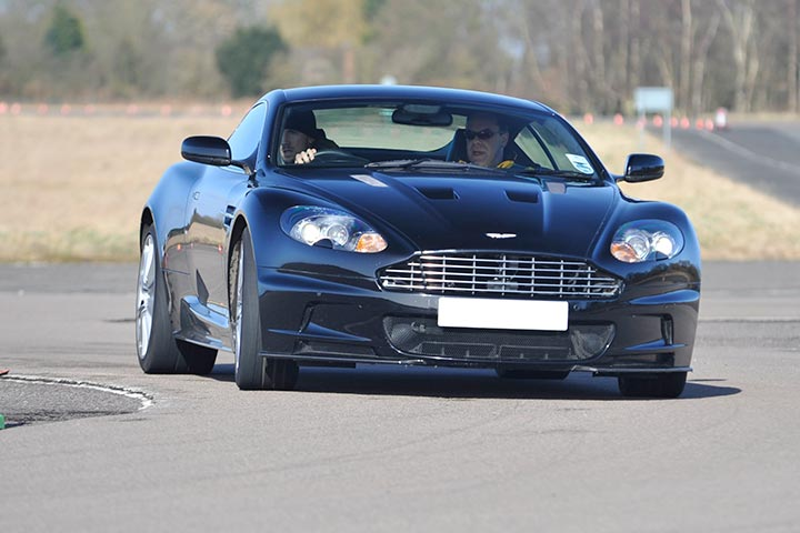 Aston Martin Driving Experience at Blyton Park, Midlands, Lincolnshire