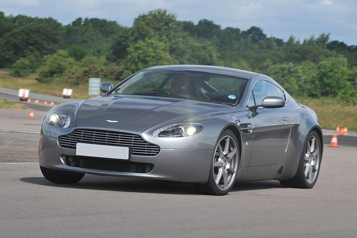 Aston Martin Driving Experience at Castle Combe, Chippenham, Wiltshire