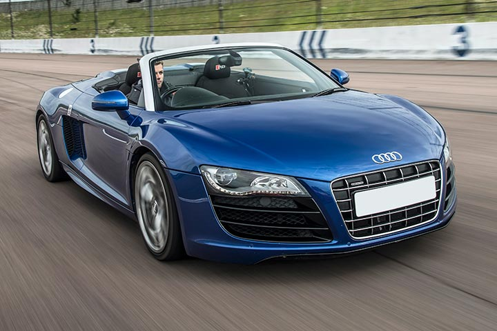 Audi R8 Driving Experience at Mallory Park Circuit, Leicestershire