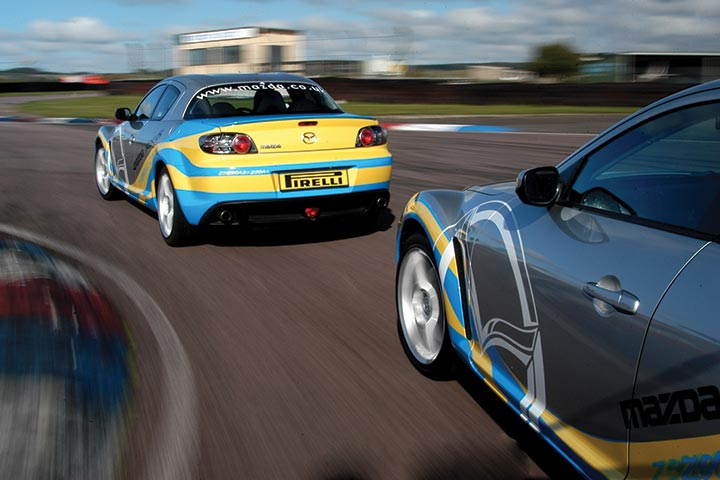 Mazda MX-5 Experience at Prestwold