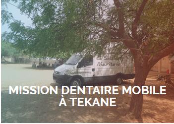 Bilan de la mission du bus dentaire mobile à Tékane (22 mai 2016)