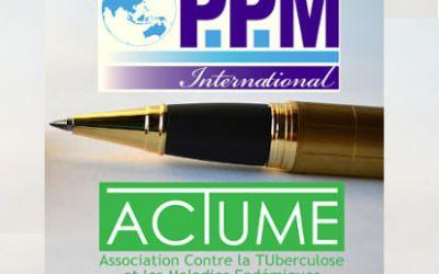 Signature d'une convention de partenariat entre PPM International et ACTUME