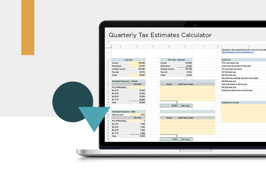 Free Quarterly Tax Payment Calculator