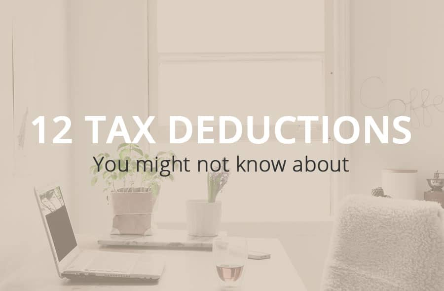 Can I Expense That?12 Tax Deductions You Might Not Know About