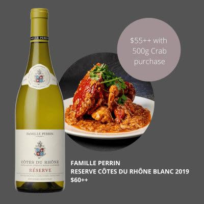 Famille Perrin Reserve Côtes du Rhône Blanc 2019