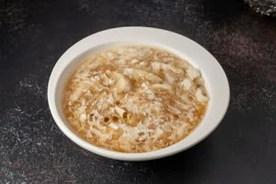 FISH MAW & CRAB MEAT SOUP- LARGE  鱼鳔蟹肉汤