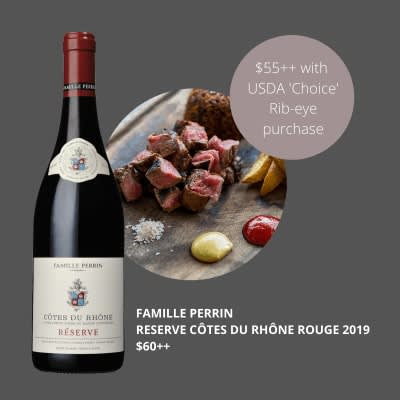 Famille Perrin Reserve Côtes du Rhône Rouge 2017