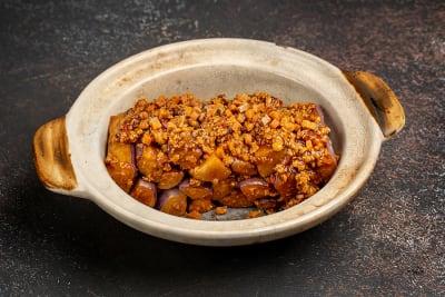 CLAYPOT BRINJAL 咸鱼茄子煲 - SMALL