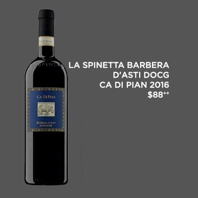 La Spinetta Barbera D'Asti DOCG Ca Di Pian 2016