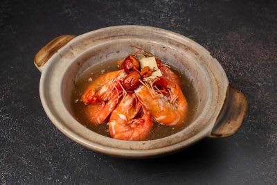 HERBAL PRAWN SOUP- LARGE 药材虾汤