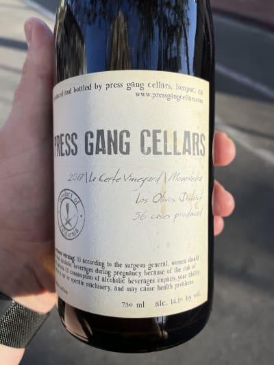 Press Gang Cellars Mourvedre