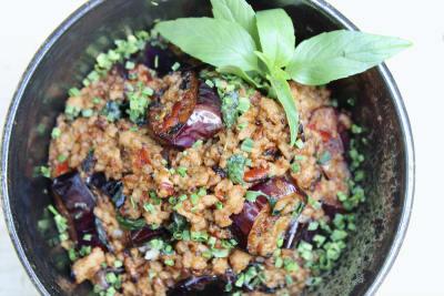 Eggplant & Pork Balado