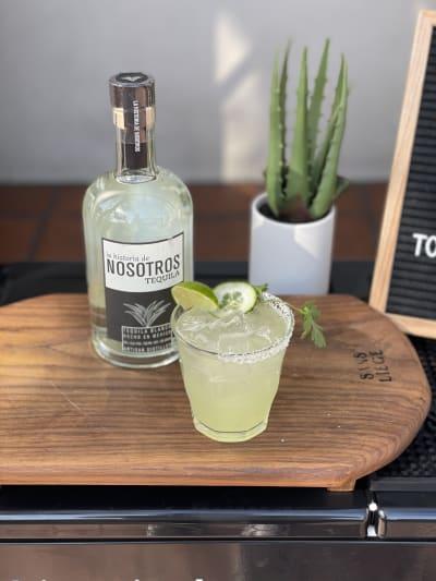 Nosotros Cucumber-Cilantro Margarita
