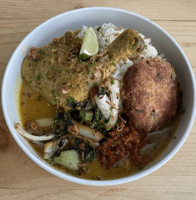 Javanese Chicken Curry Bowl
