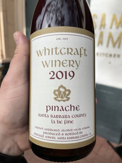 """2019 Whitcraft Winery """"Pinache"""""""