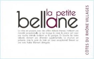 CLOS BELLANE 'PETIT BELLANE'