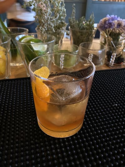 Beeswax Old Fashioned