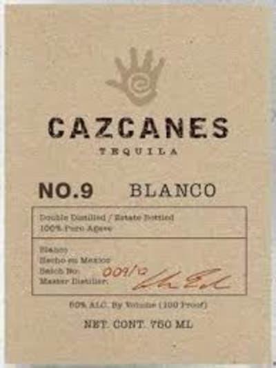 Cazcanes Blanco No.9