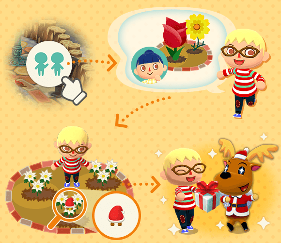 Jingles Holly Jolly Roundup Gardening Event Pocket Camp Guide