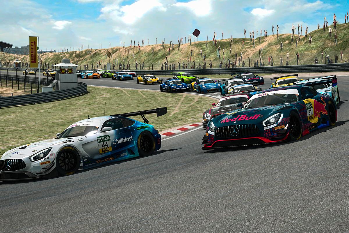 ADAC eSports 2020, Zandvoort, virtuell