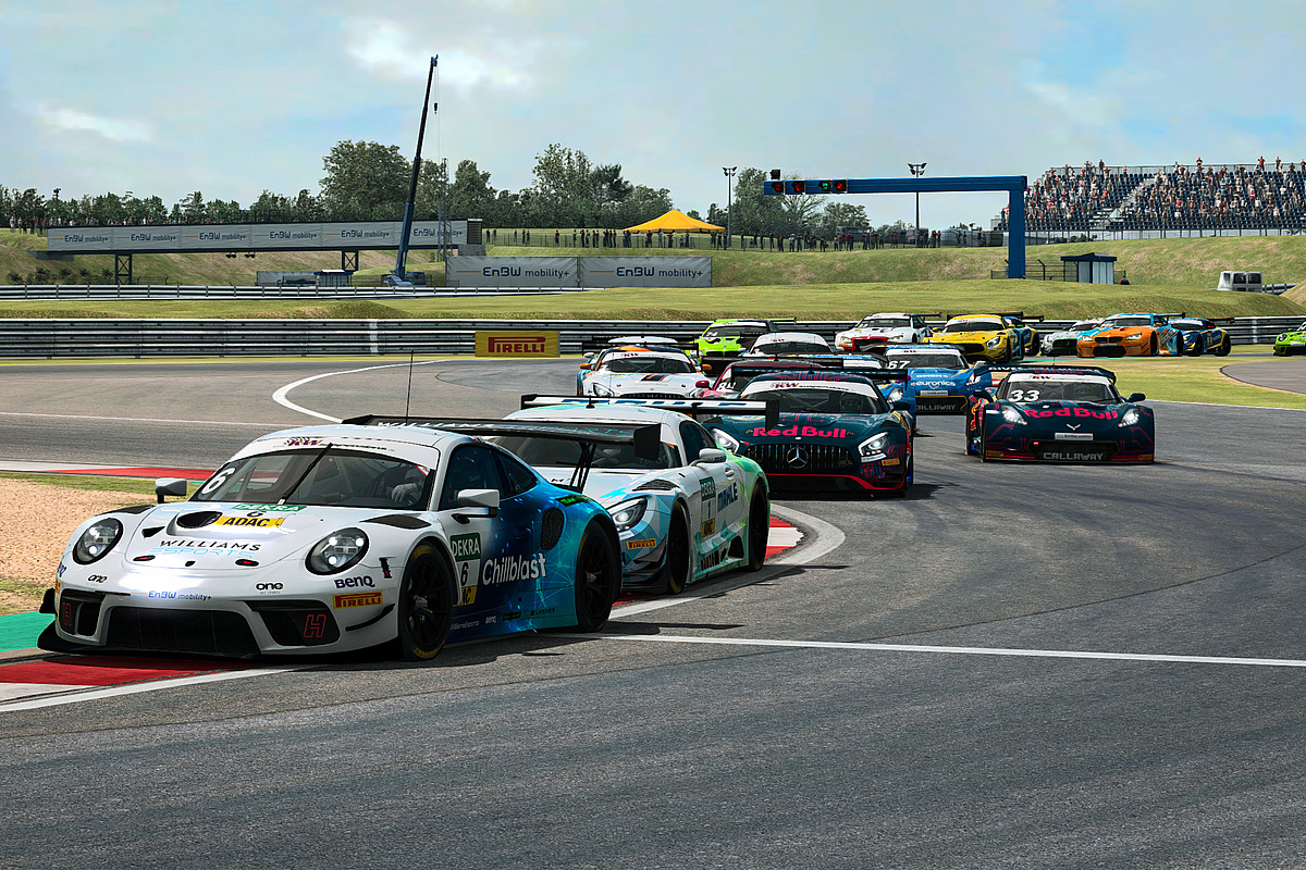 ADAC eSports 2020, Motorsport Arena Oschersleben, virtuell
