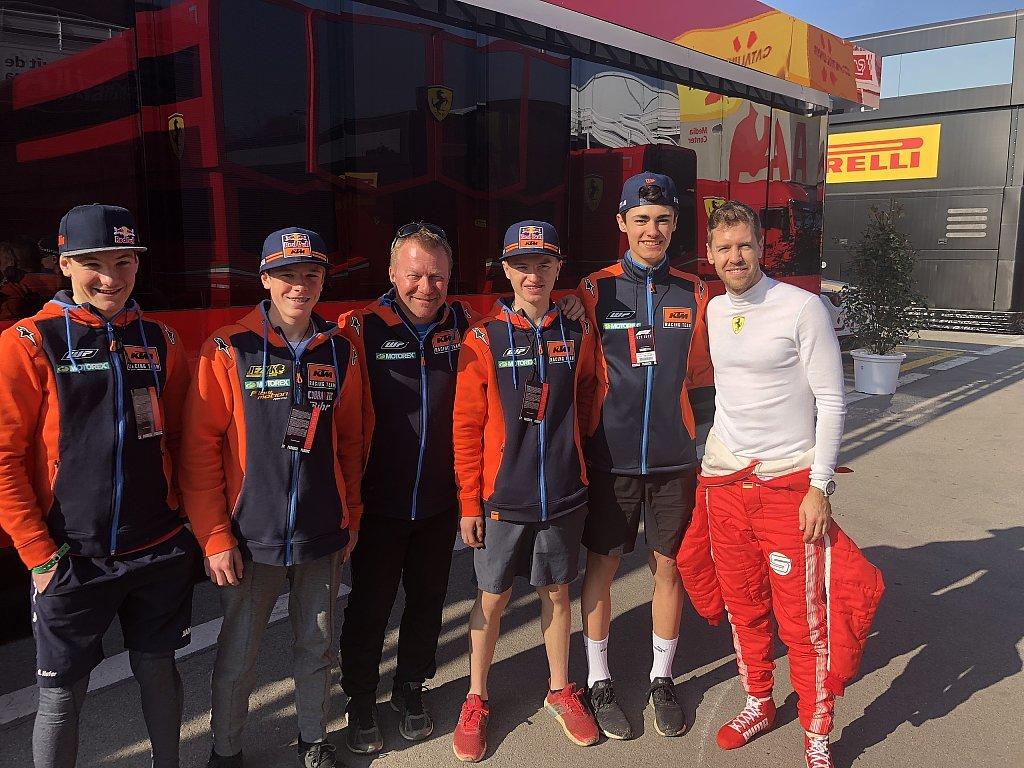 News aus der ADAC Stiftung Sport 3/18: Vier Förderkandidaten fiebern der ADAC TCR Germany entgegen