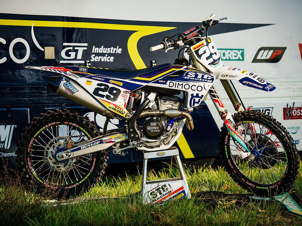 Bikes der Stars unter der Lupe : Husqvarna FC 350 - Team STC Husqvarna Racing