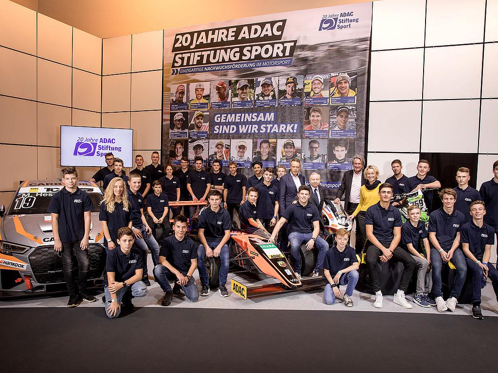 ADAC Stiftung Sport stellt Förderpiloten 2019 vor: Es werden 36 Fahrer aus neun Disziplinen im neuen Jahr unterstützt