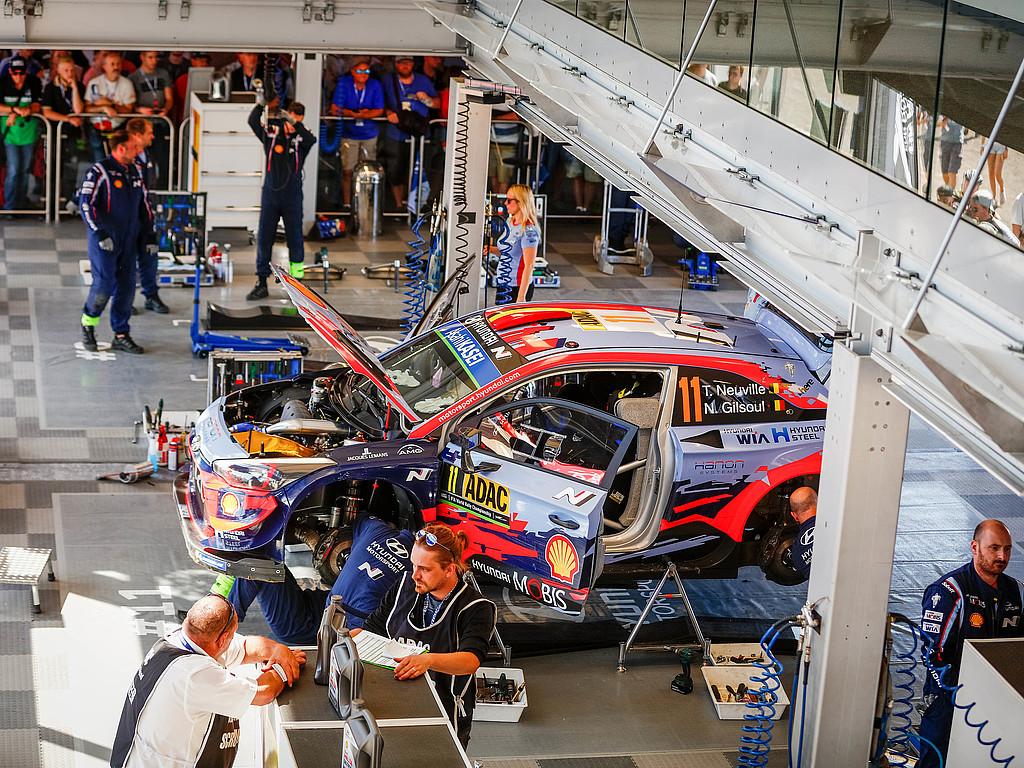 Die Stimmen aus dem Service C  : Aussagen der Teilnehmer der ADAC Rallye Deutschland