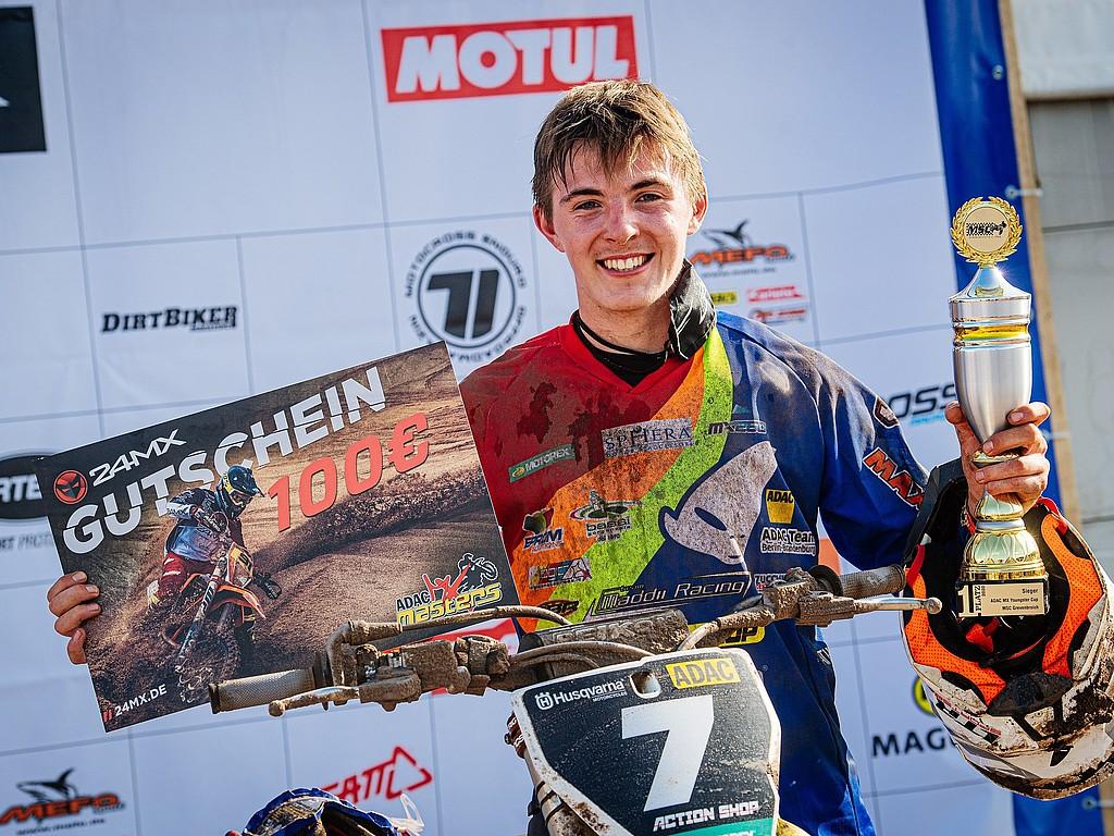 News aus der ADAC Stiftung Sport : Motocrosser Maximilian Spies auf Titelkurs im ADAC MX Youngster Cup