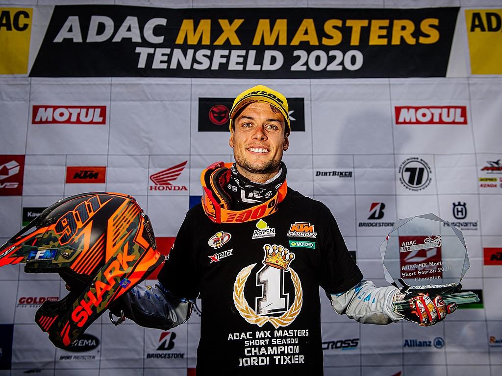 Tixier wird ADAC MX Masters Short Season-Champion: Tixier siegt in Tensfeld vor Sabulis und Rauchenecker