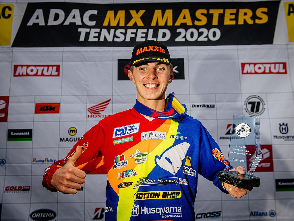 Interview mit ADAC MX Youngster Cup-Champion Spies: Berufswunsch Motocross-Profi