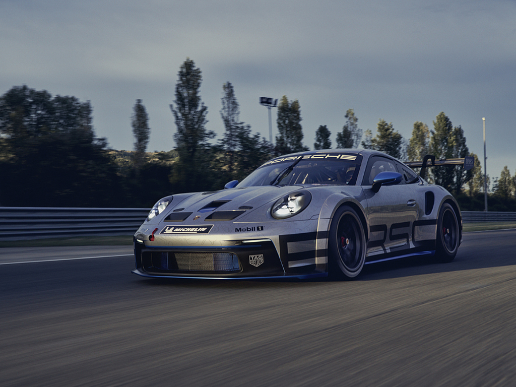 Stark und schnell: Der neue Porsche 911 GT3 Cup: Stärker, spektakulär und schneller: Der neue Cup-Porsche