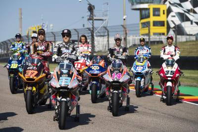 Die Lokalmatadore beim Motorrad Grand Prix Deutschland