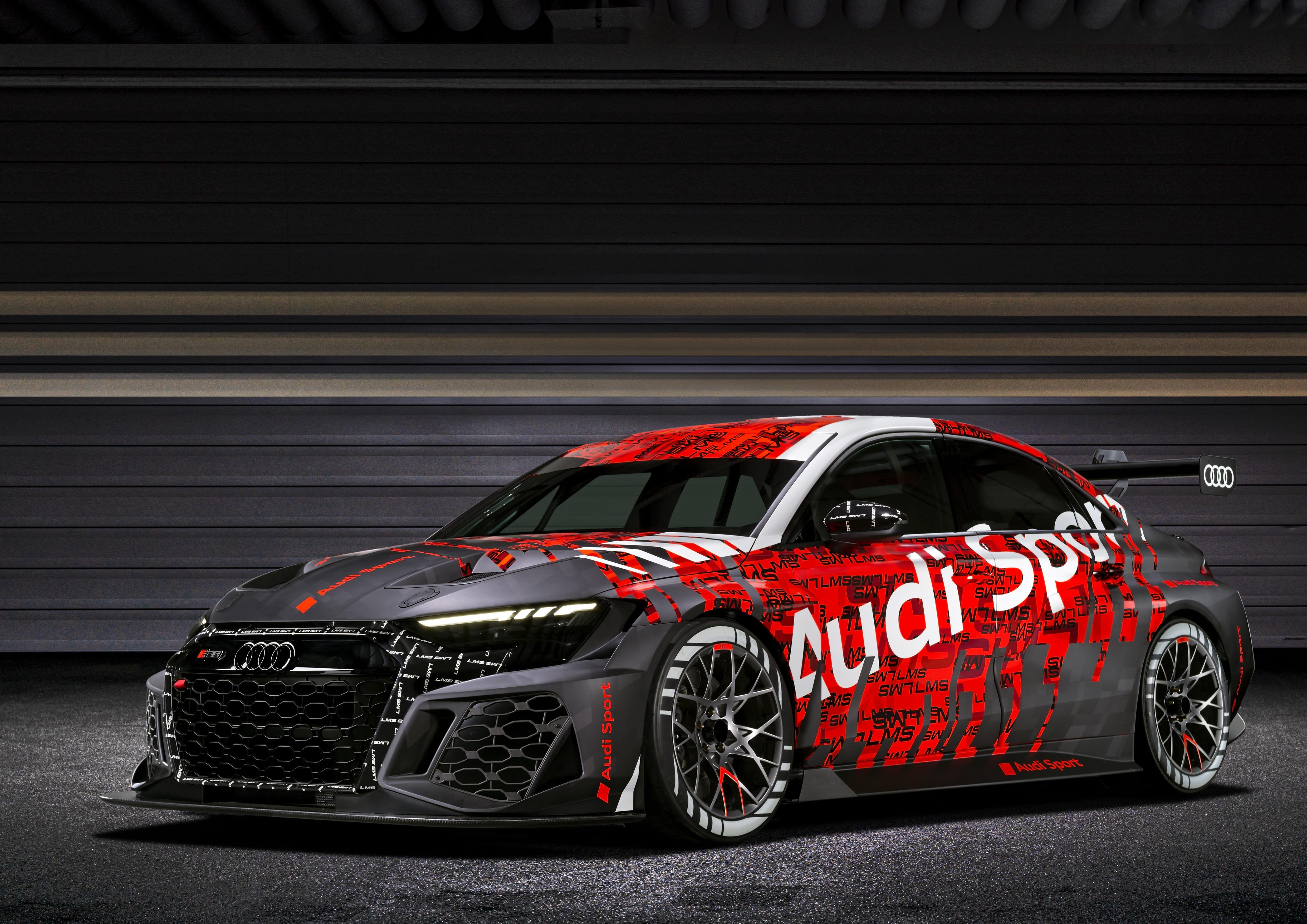 Audi stellt neuen RS3 LMS vor